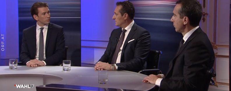 Schachmatt oder Verantwortung: Sebastian Kurz auf Partnersuche, die Regierungsbildung scheint noch lange nicht ausgemacht. Credit: orf.at