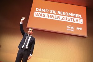 Die SPÖ unter Christian Kern blieb überraschend stabil. Die Gründe dafür waren aber nicht unbedingt eigene Verdienste. © SPÖ/Zach-Kiesling