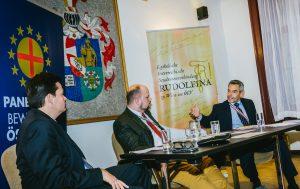Lukas Mandl, Philipp Jauernik, Karl Nehammer.Foto: Stefan Denner