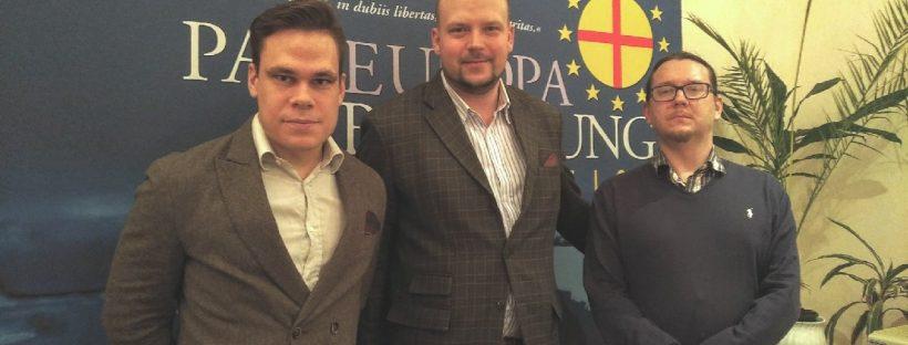Elias Kindl, Philipp Jauernik, Charles Joseph Steiner