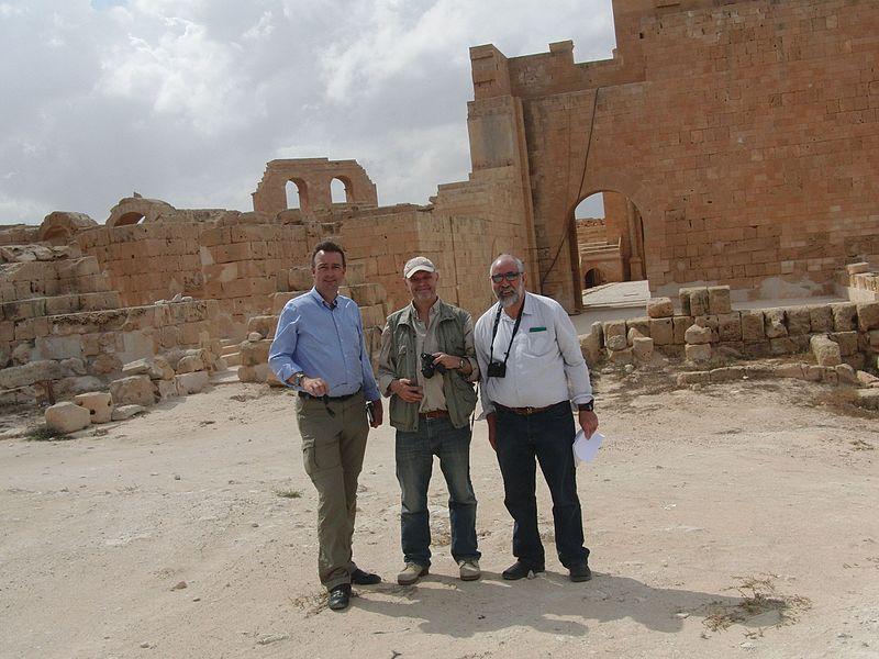 Mission in Lybien 2012: Kulturgüterschutz ist seit langer Zeit ein Herzensanliegen Habsburgs. © BlueShields