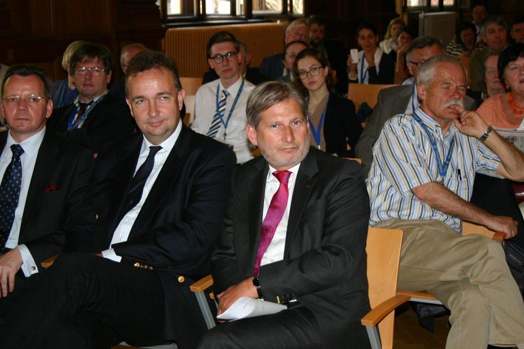Paneuropa-Symposion 2015: Mit Österreichs EU-Kommissar Johannes Hahn in Wien