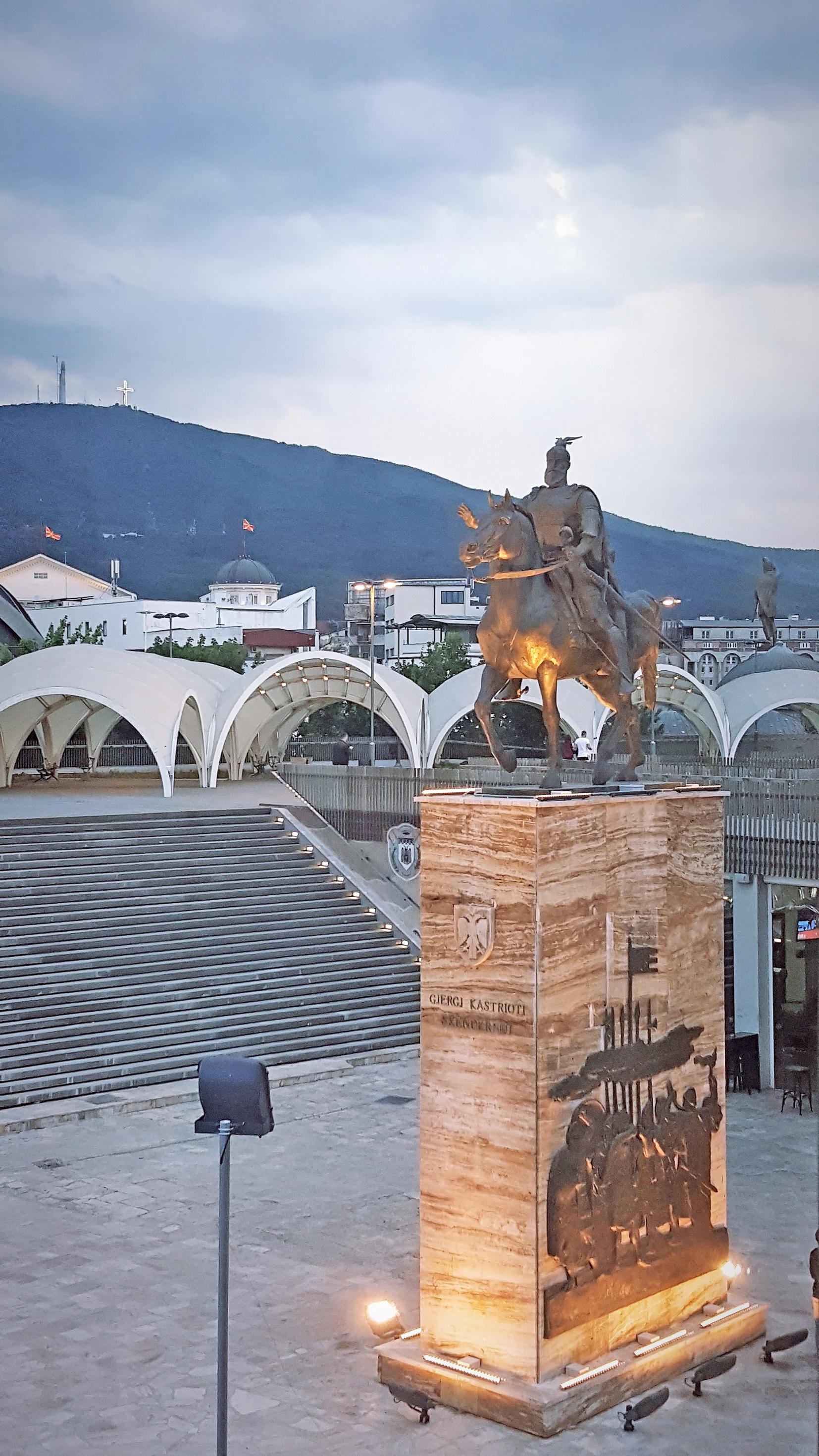 Skanderbeg_Denkmal_Skopje